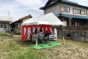 稲沢の家「地鎮祭」