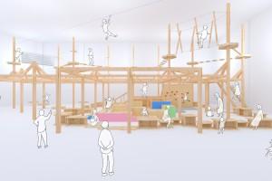 「Adventure Park BOUKEN トリアス店」の設計・施工を担当しました。