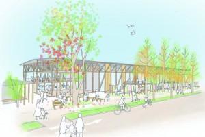 「学びの森」(岐阜県各務原市)で、 新たな木育施設事業がスタートします!