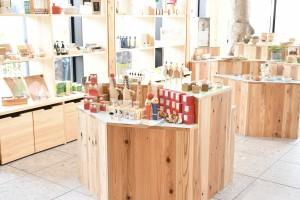 岐阜県が運営する「ぎふ木遊館」内にショップをオープンします。